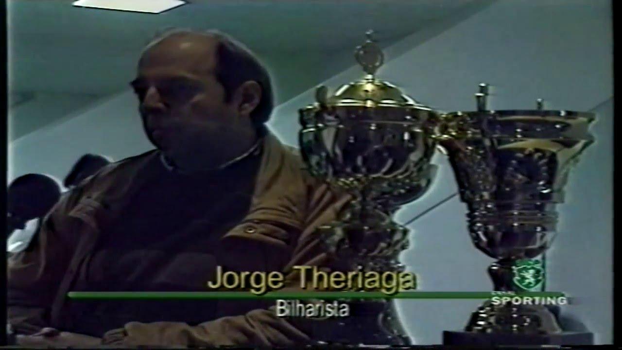 Bilhar (3 tabelas) :: Sporting Campeão Nacional colectivamente e Jorge Theriaga individualmente 05/02/1999