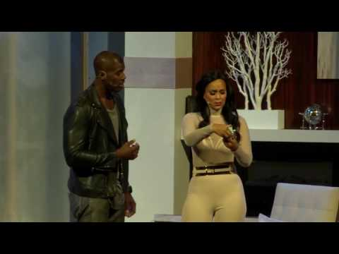 Bill Bellamy, Lisa Raye McCoy  Married But Single Too BRoll