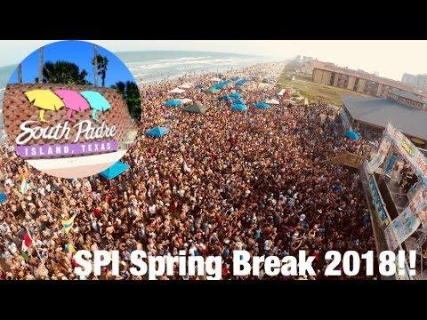 South Padre Island Spring Break 2018!! Beach Bash!!