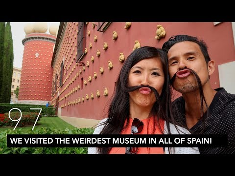 WE VISITED THE WEIRDEST MUSEUM IN ALL OF SPAIN! | BEST Salvador Dali Tour! | VLOG 97