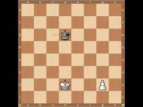 Chess Endgames- King and Pawn