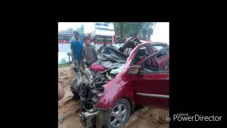 Accident happen near by dudhnoi