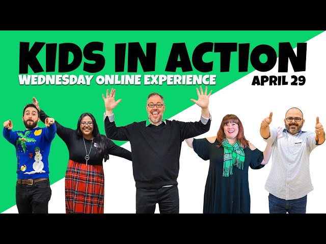 Kids in Action - Wednesday Service - APRIL 29 kids ministry Kids Ministry sddefault
