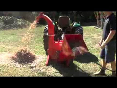 "Liberty Professional Series DX 5"" PTO Driven Wood Chipper"