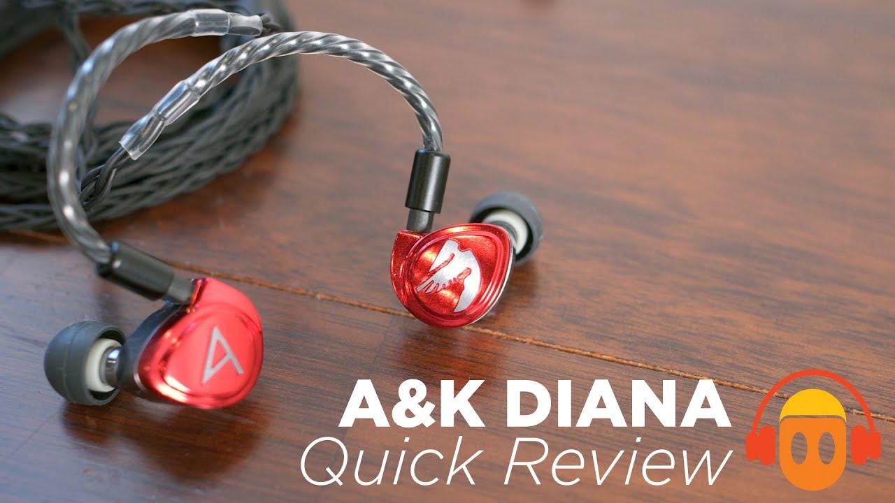 Descripción Astell&Kern Diana Auriculares con cable