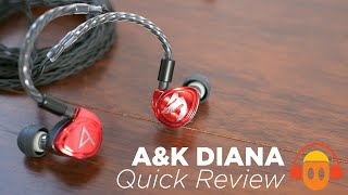 Astell & Kern / JH Audio Diana IEM Review (4K): King of Pop