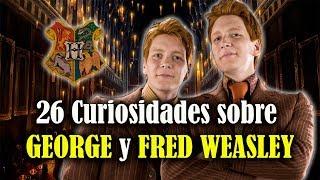 26 Cosas que probablemente no sabías sobre Fred y George Weasley