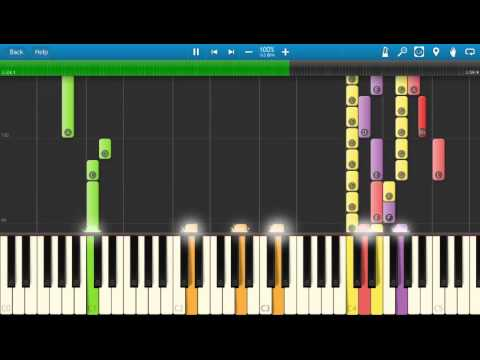 My Chemical Romance - This Is How I Disappear - Piano Tutorial - Synthesia