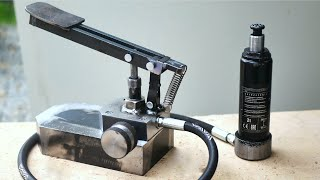 Hydraulic CAR JACK modification