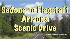 Scenic Drive Sedona to Flagstaff Arizona