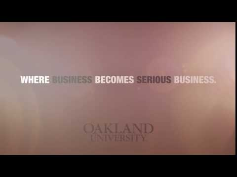 Oakland University Business Day.  October 22, 2016