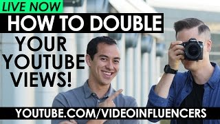 How to Double Your Views on YouTube - 7 Strategies