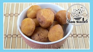 Thai Fried Sweet Potato Balls