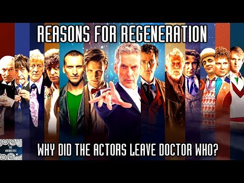 Reasons for Regeneration - Why did the actors leave Doctor Who?