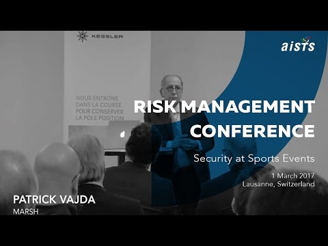 Risk Management Conference on Security at Sport Events Partners Introduction Part 2
