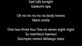 CN Blue - I'm a loner (lyrics)