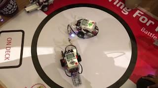 LEGO MINDSTORMS Sumo Battle     Лего Майндстормс  Сумо