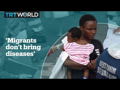WHO: Refugees don't bring diseases to Europe