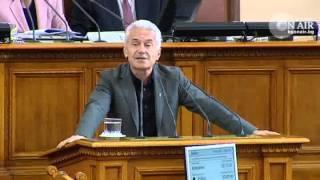 Волен Сидеров осигури кворума за гласуването на кабинета Орешарски