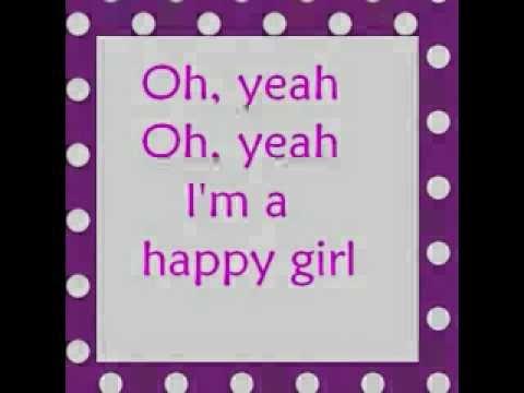 Martina McBride~ Happy Girl Lyrics