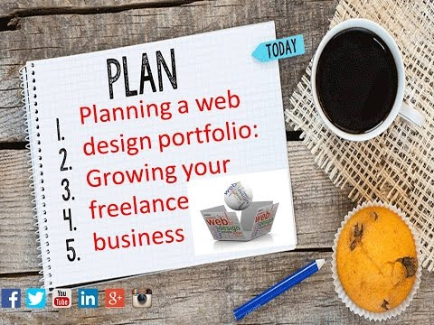 Planning a web design portfolio: Growing your freelance business