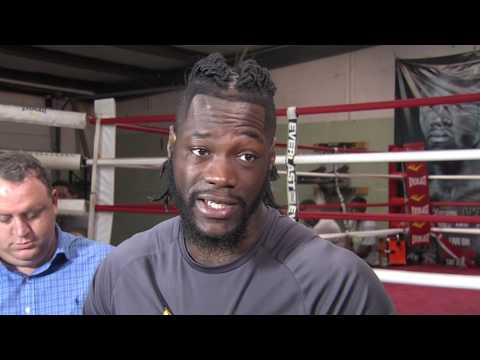 WEB EXTRA: DEONTAY WILDER PREVIEWS FIGHT