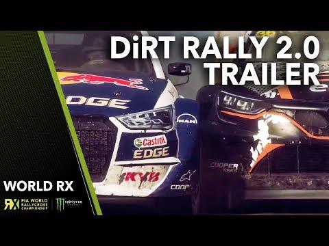 DiRT Rally 2.0 Trailer   World RX in Motion   FIA World Rallycross