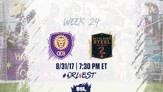 Orlando City II vs Bethlehem Steel FC full match
