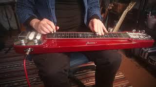 Harbour Lights - Hawaiian Style Lap Steel Guitar