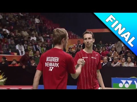 Syed Modi International Badminton C'ships 2017 | F | Boe/Mog vs Lu/Yang [HD]