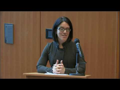 Sonia LeBel discusses findings from the Charbonneau Inquiry at the Peter A. Allard School of Law