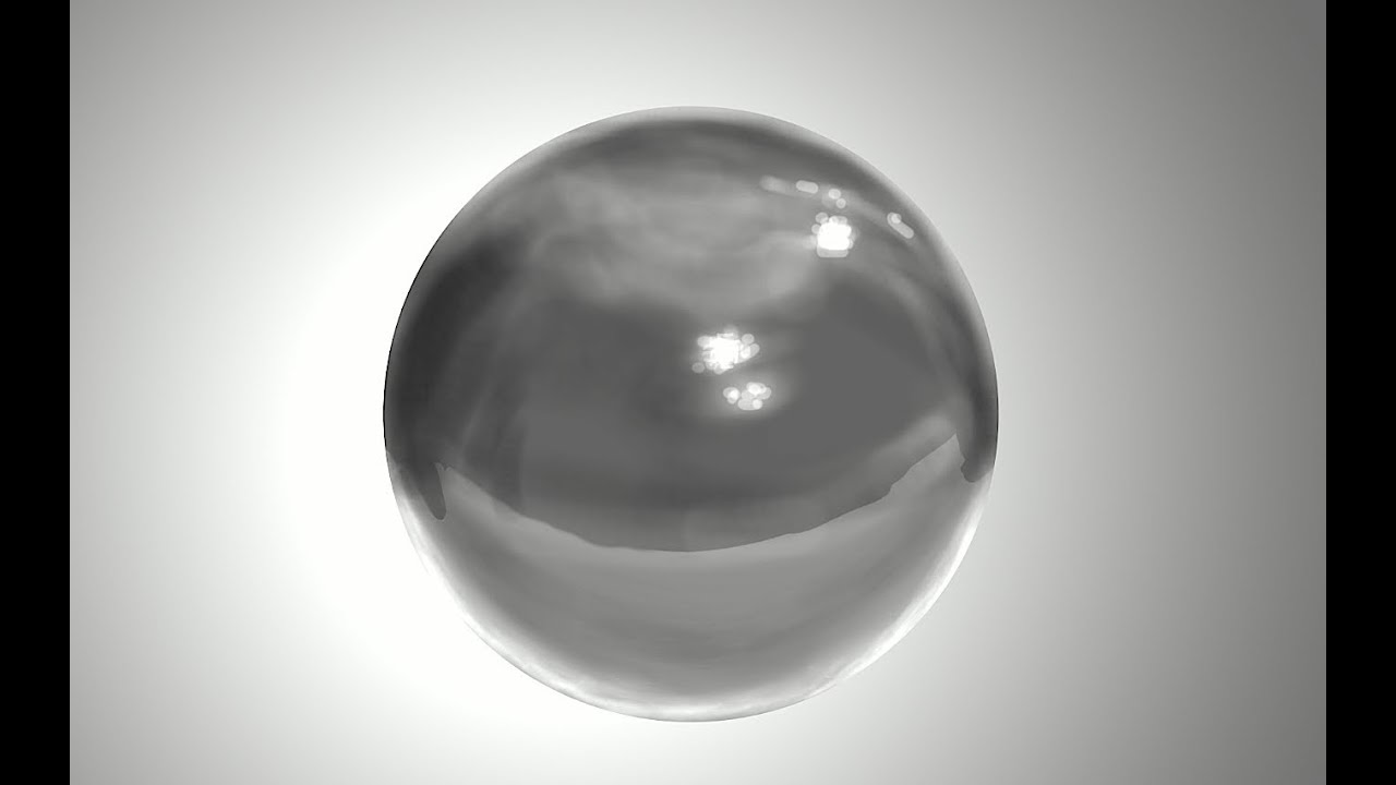 Digital Painting A Marble Ball Youtube