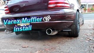 Varex Muffler Install