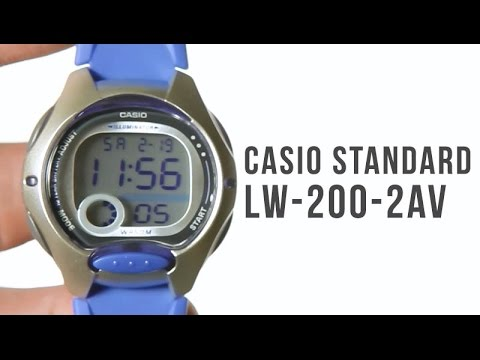 136bf0398e54 Casio Standard LW-200-2A   unboxing - YouTube