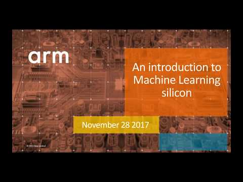 An introduction to machine learning silicon