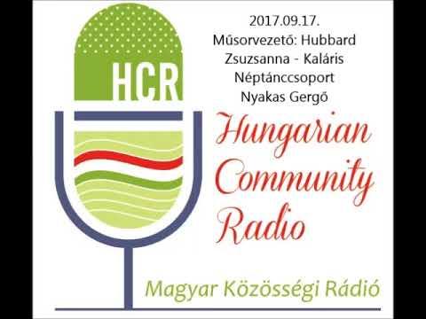 Magyar Kozossegi Radio Adelaide 2017 09 17 Hubbard Zsuzsanna és Nyakas Gergo