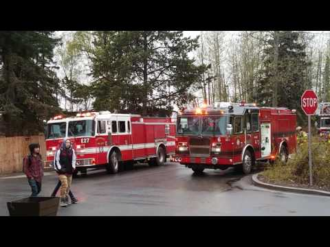 Anchorage Fire Department Responding
