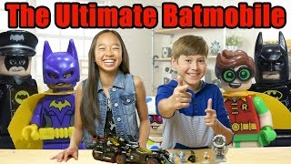 Best LEGO Batmobile Ever?- LEGO The Batman Movie - The Build Zone Season 5 Episode 7