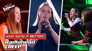 Who Sang Radiohead S Creep Better The Voice Kids Youtube