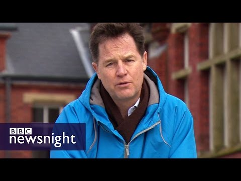 Nick Clegg: Why did Ebbw Vale in Wales vote Brexit? BBC Newsnight
