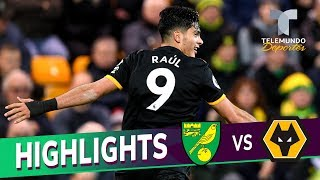 Norwich City vs. Wolverhampton: 1-2 Goals & Highlights | Premier League | Telemundo Deportes