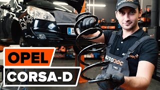 How to change Cam chain on OPEL CORSA D - online free video