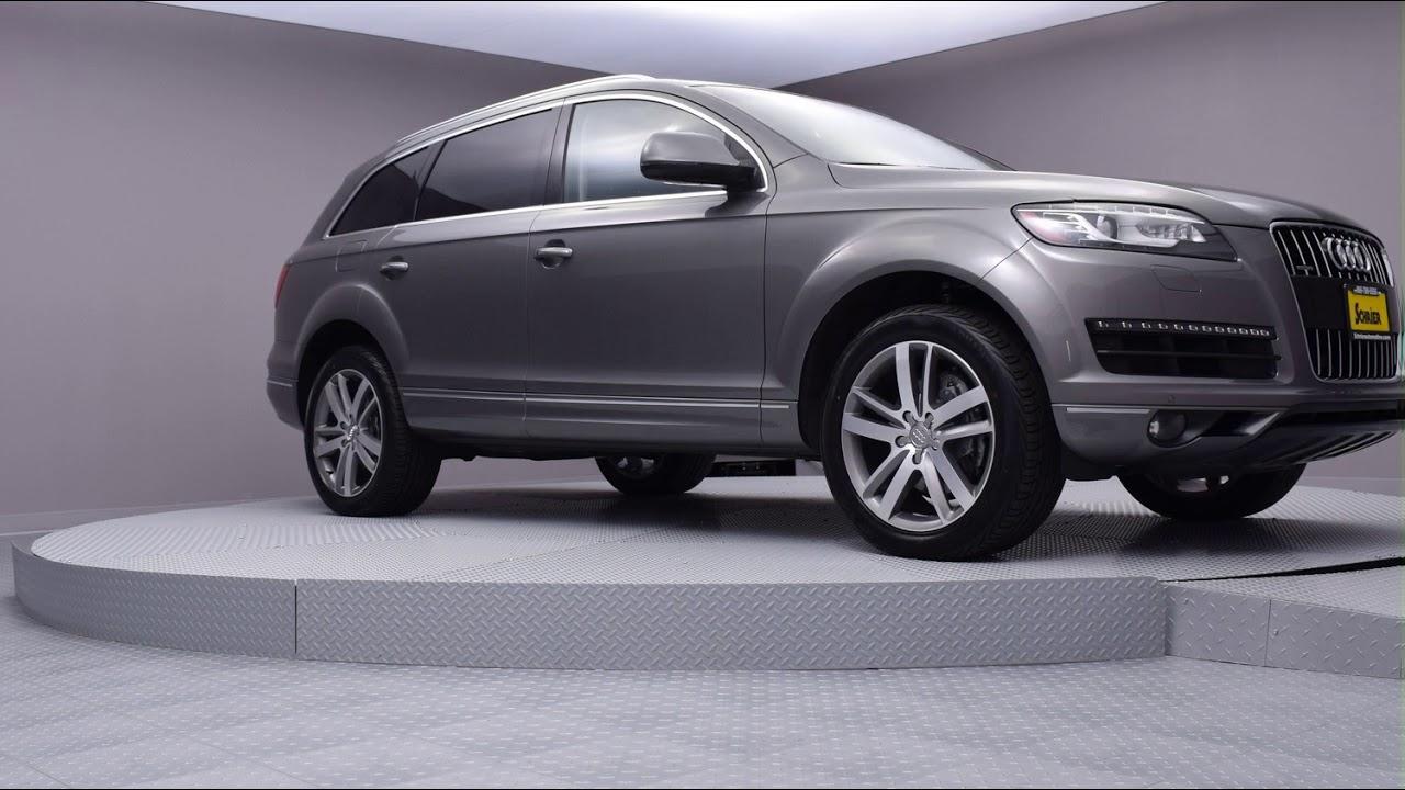 2015 Graphite Gray Metallic Audi Q7 SUV #FD008311 - YouTube on audi moss green, audi bronze, audi chrome, audi cobalt blue, audi maroon, audi yellow, audi black, audi midnight blue, audi white, audi gold, audi purple,