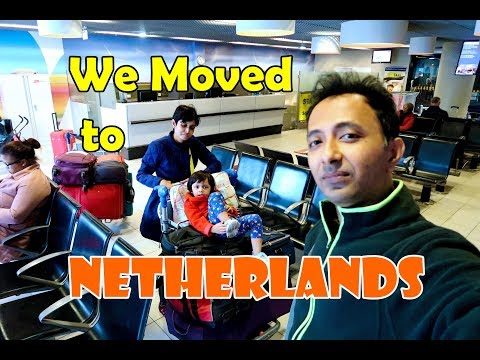 Kolkata to Amsterdam ll Jet Airways Business Class ll India to Netherlands