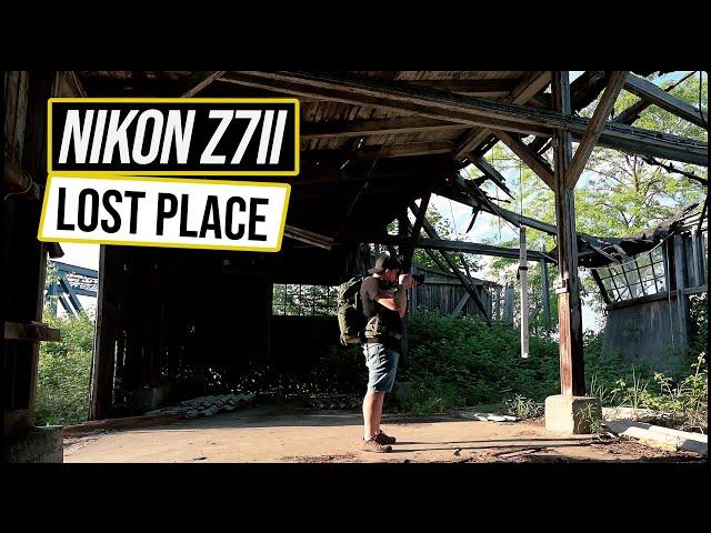 Lost Place mit Nikon Z7 II fotografieren - Z 14-30mm F4 & IRIX 11mm F4 - Dynamik & ISO-Rauschen Test
