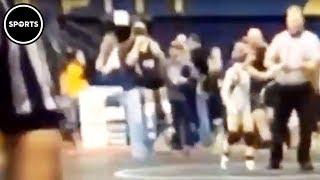 Kurt Angle's Brother Choke Slams Youth Wrestler