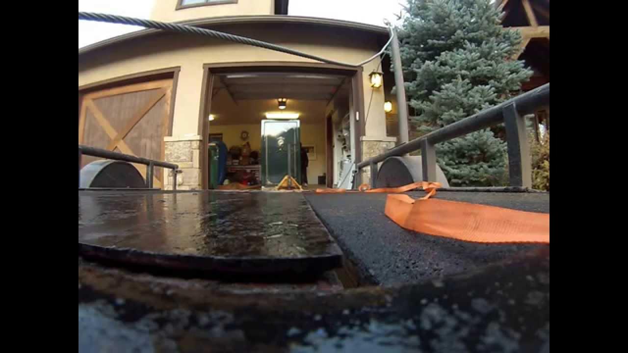 Moving a 1500 Lb Fort Knox Gun Safe Vault