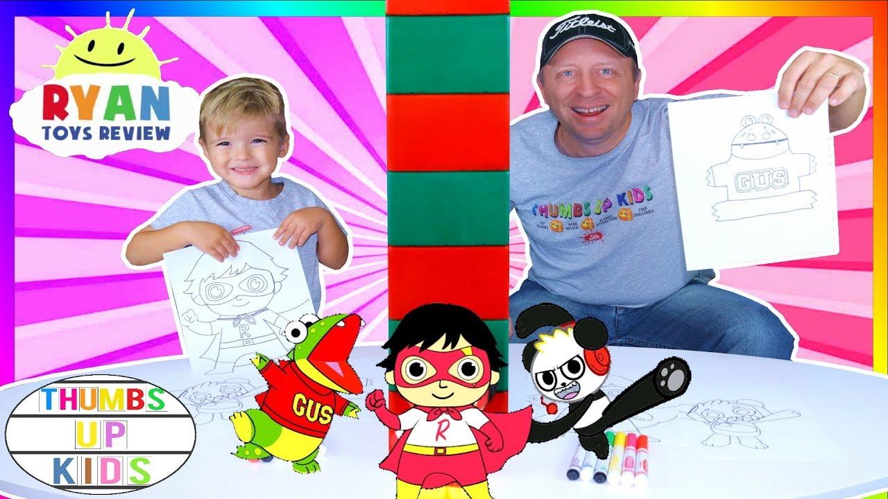 Twin Telepathy 3 Marker Challenge Sebastian And Dad