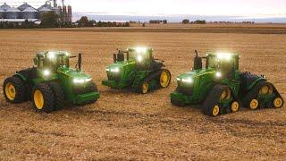 Tractores de la serie 9: Máxima potencia | John Deere ES