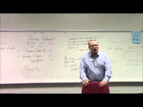 6 Financial Statements Lecture
